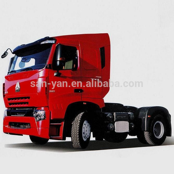 Discount on Sinotruk 4x2 371hp Euro 2 Right hand drive HOWO TRACTOR TRUCK for sale!
