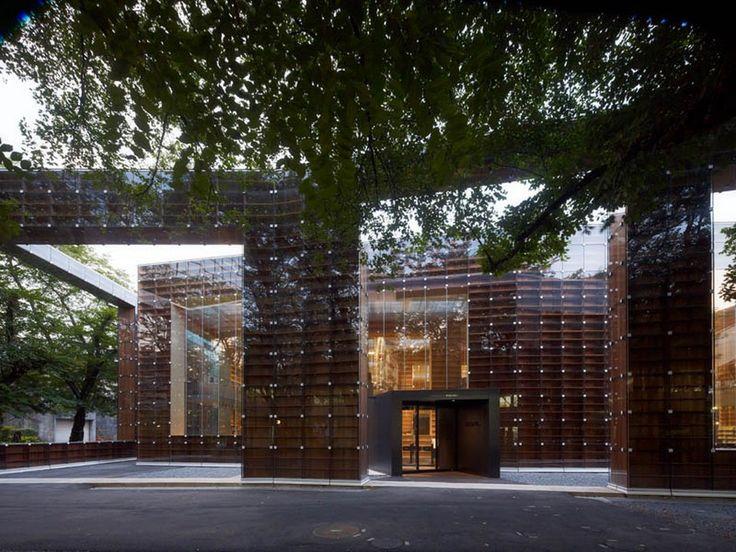 architektura.klenot.cz - gotika, renesance, baroko, moderna a moderní architektura - Moderní japonská architektura - Koncepční a organická architektura