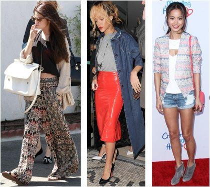 Celebrity Street Style of the Week: Rihanna, Jamie Chung, & Selena Gomez
