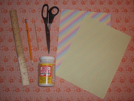 paper bead tutorial from rookie mag