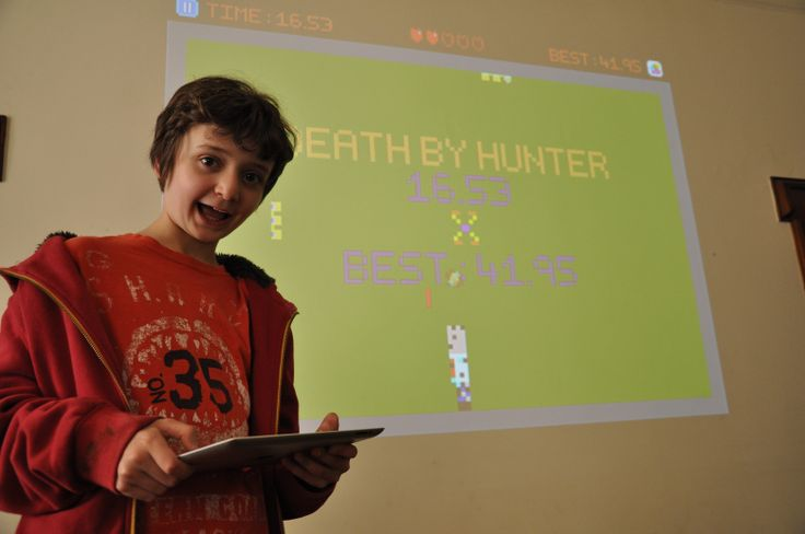 Meet the 12-year-old boy who makes games instead of goingtoschool