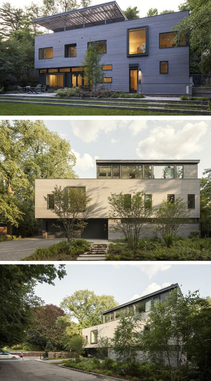 Modernes haus design moderne häuser minimalistische haus architektur innen architektur design containerhäuser zeitgenössischen häuser außen haus
