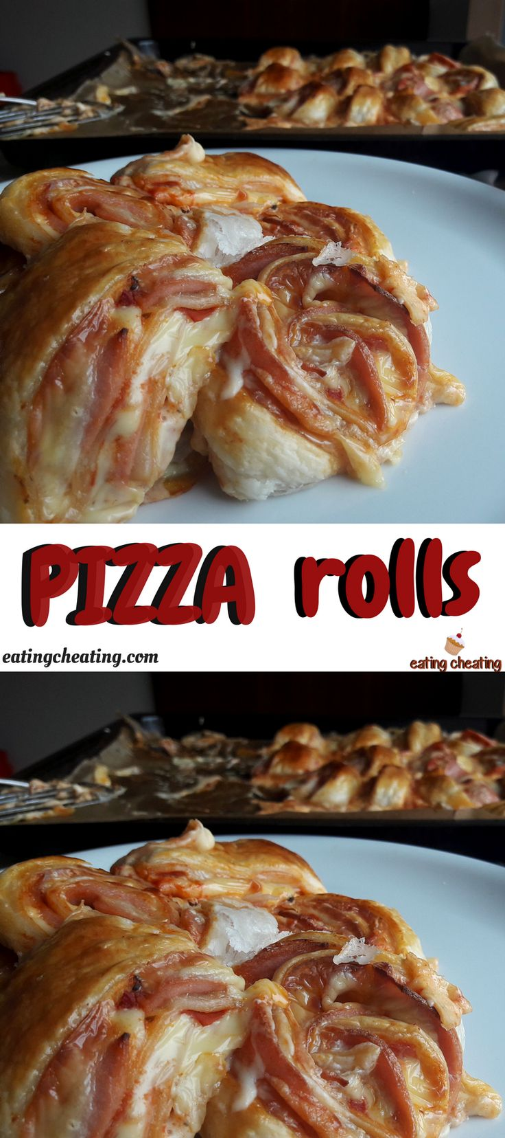 Who love pizza? I think that everybody love pizza. That is why I made for this post delicious pizza rolls. This pizza rolls recipe is easy to prepare and quick to make. Great recipe for Christmas time or for the New Year! Pizza can be make in so many different ways and forms. And this pizza rolls are very interesting and they look very cool!