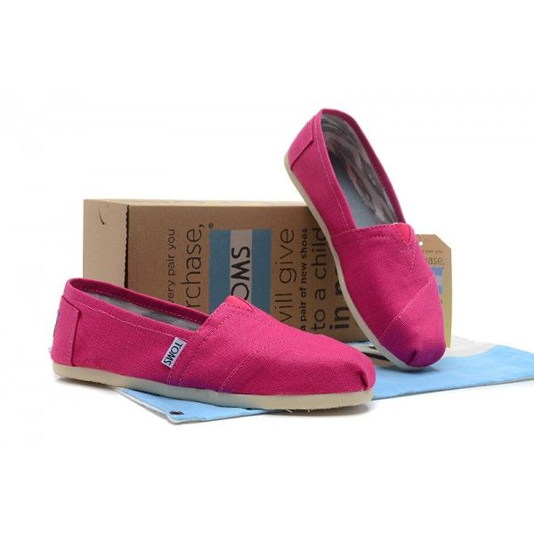 Washed Pink Canvas Womens Classics