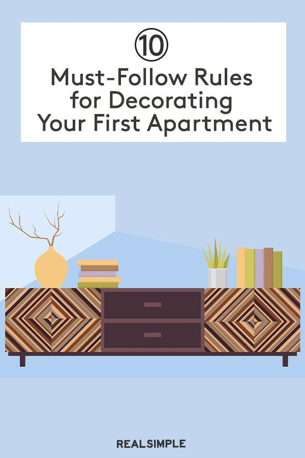 10 Must Follow Rules For Decorating Your First Apartment With