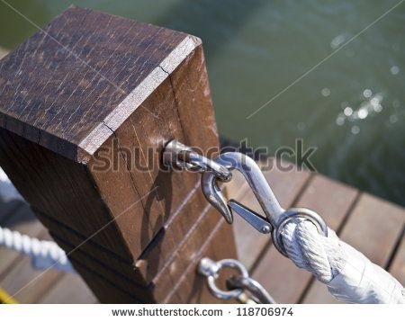 post and rope fence - Google Search