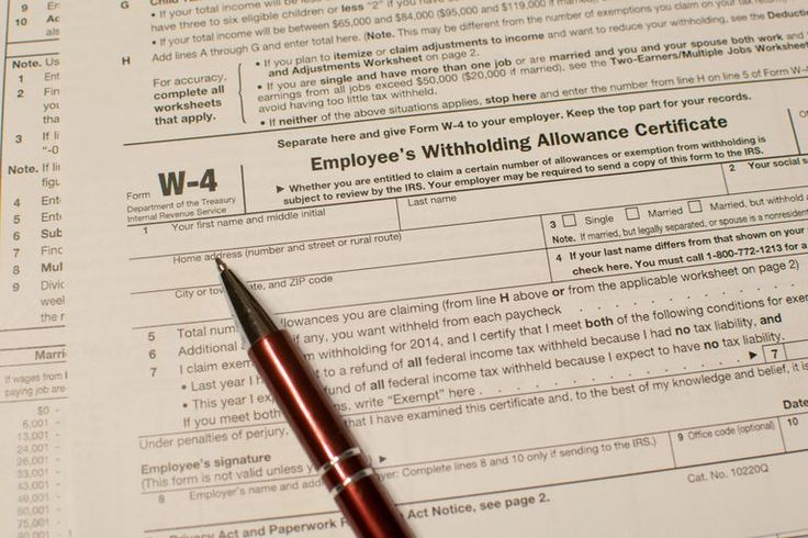 Filling out Form W-4 is one of the first things you do when you start a new job. You also fill out a new W-4 if your financial situation has changed and you want to adjust your withholding.