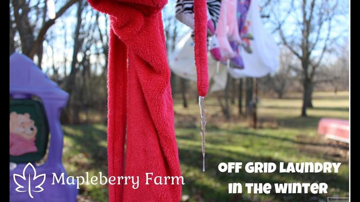 Off Grid Laundry - The Dark Side - Part 2