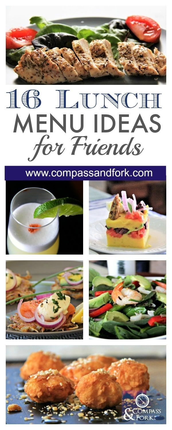 Trend Recipe Ideas For Lunch With Friends