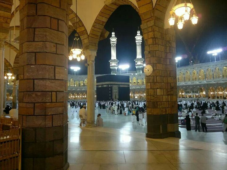 Amazing view of the Kaaba