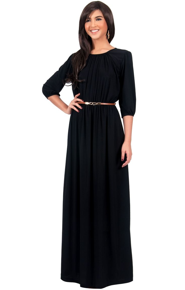 Black dress long - Find This Pin And More On Long Black Dresses