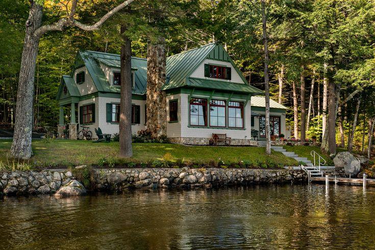 Lakeside Maine Cottage | TMS Architects