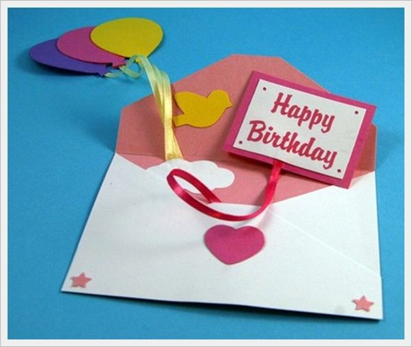 30 Cool Handmade Card Ideas For Birthday, Christmas and other Special Occasions - Bored Art