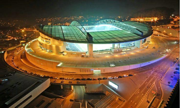 Estádio do Dragão nocą