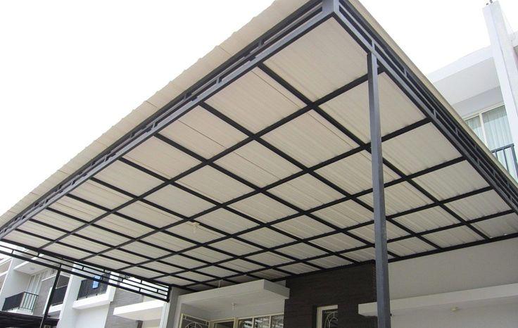 30 Kanopi Rumah Minimalis Kanopi Baja Ringan Atap Upvc Avantguard
