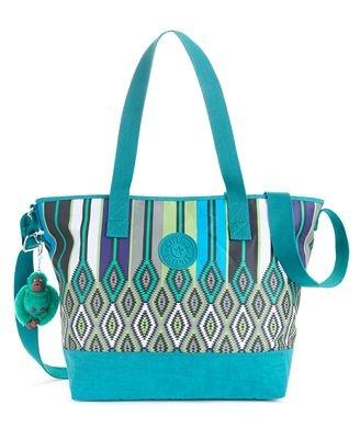 Kipling Handbag, Brasil Asiena Print Tote