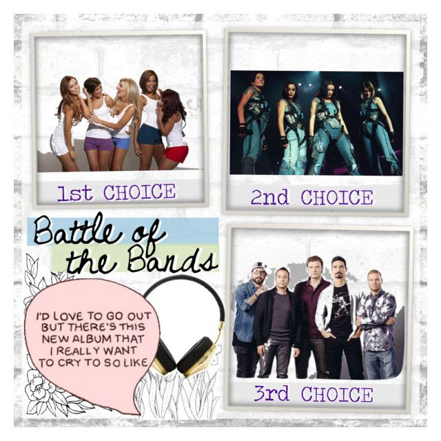 """Bands (battle of the bands)"" by sarah-m-smith ❤ liked on Polyvore featuring art"