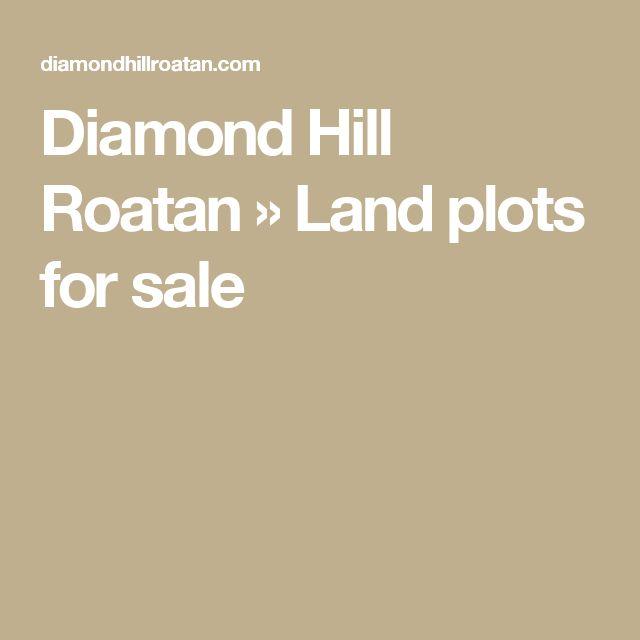 Diamond Hill Roatan » Land plots for sale