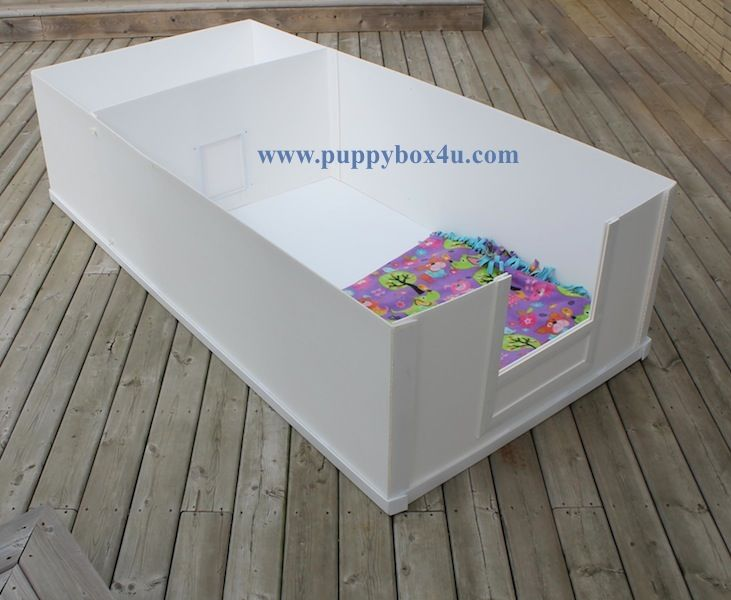 how to make a whelping box for puppies