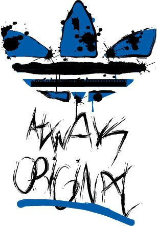 adidas original logo by Antonio Recio, via Behance