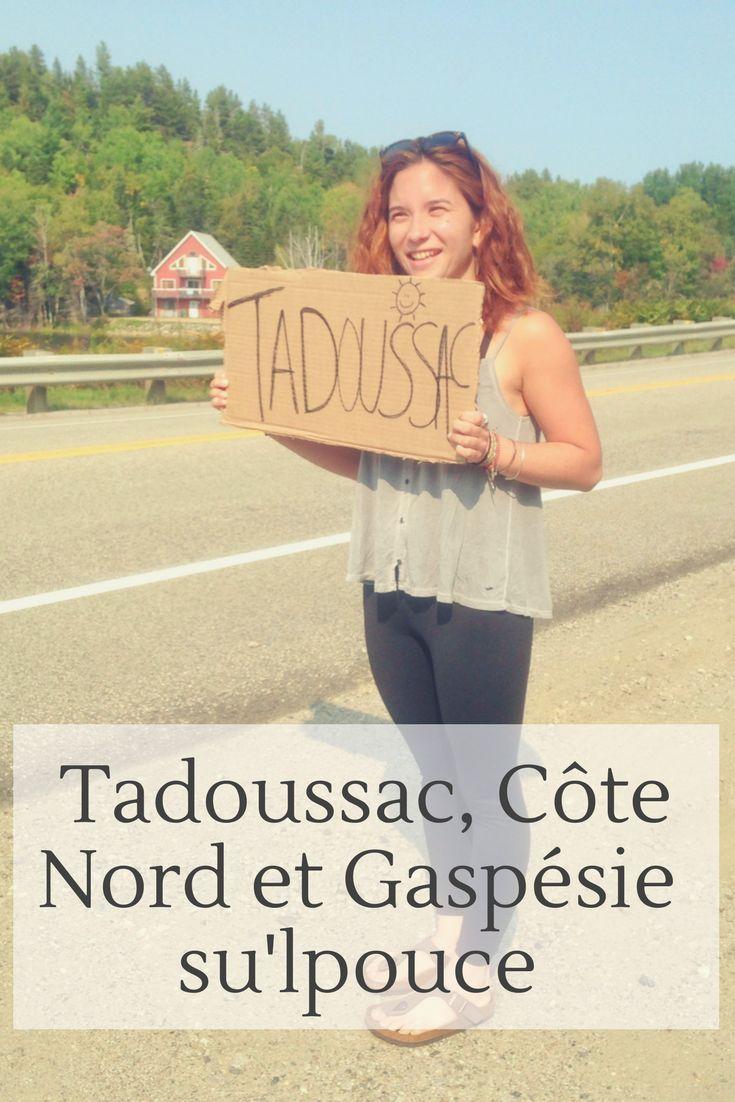 L'automne dernier, j'ai fais mon premier #roadtrip en #stop au #Québec ! Je vous raconte dans cet article notre #aventure d'une semaine à #Tadoussac et en #Gaspésie! . . . . #québec #canada #voyage #automne #seashack #saintlaurent