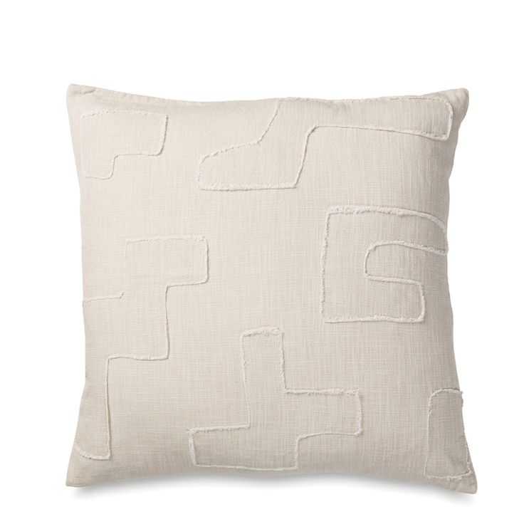 Asha Applique Cushion Cover   Citta Design $74.90
