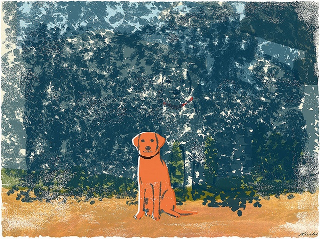 Another dog, by Tatsuro Kiuchi.