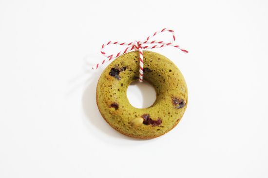 christmas cookie  -Grean tea CAKE
