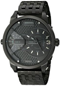 Diesel DZ7316 Chronograph Herrenuhr Mega Chief schwarz Armbanduhr Uhr NEU