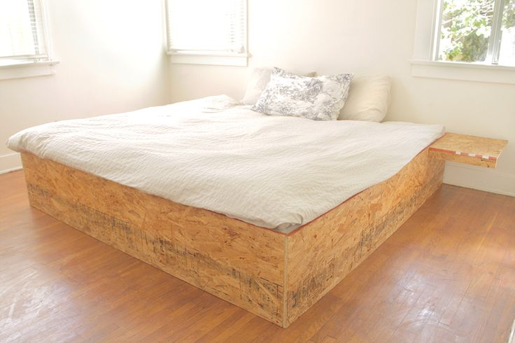 Osb Box 2 169 Mbfb Space Interior Diy Bed Bed
