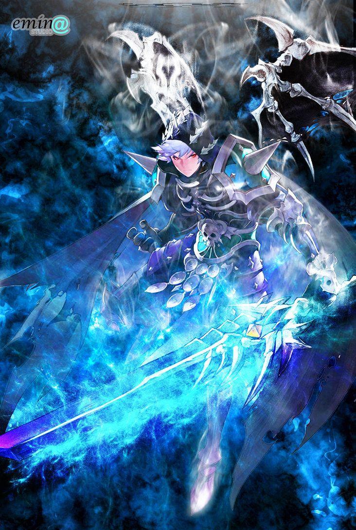 Hell Lord Kris character Seven Knights render is © bloomsama Art/Design is © emina studio.