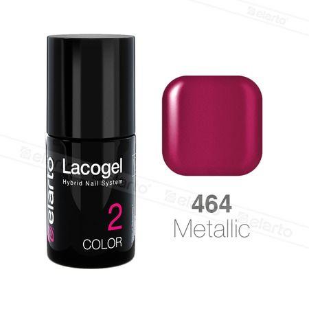 Lakier hybrydowy Lacogel nr 464 - biskupi metalik 7ml #lacogel #biskupi #metalik #elarto