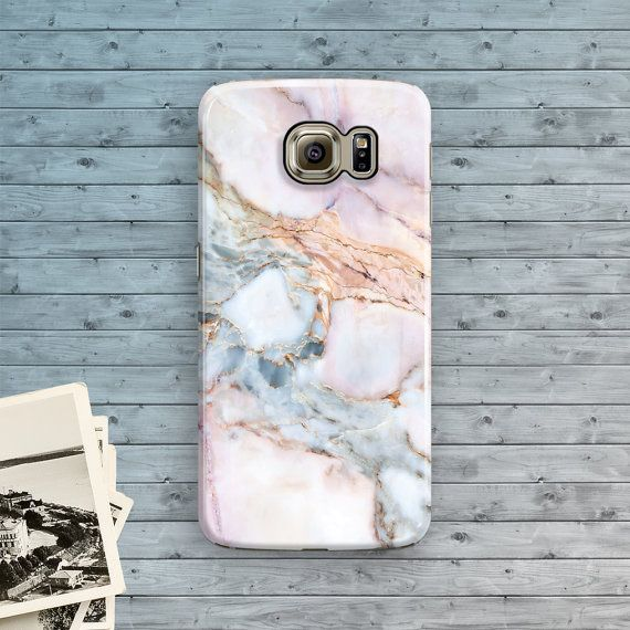 Samsung Galaxy S7 Case Galaxy S7 edge Case Marble by ByKustomKase