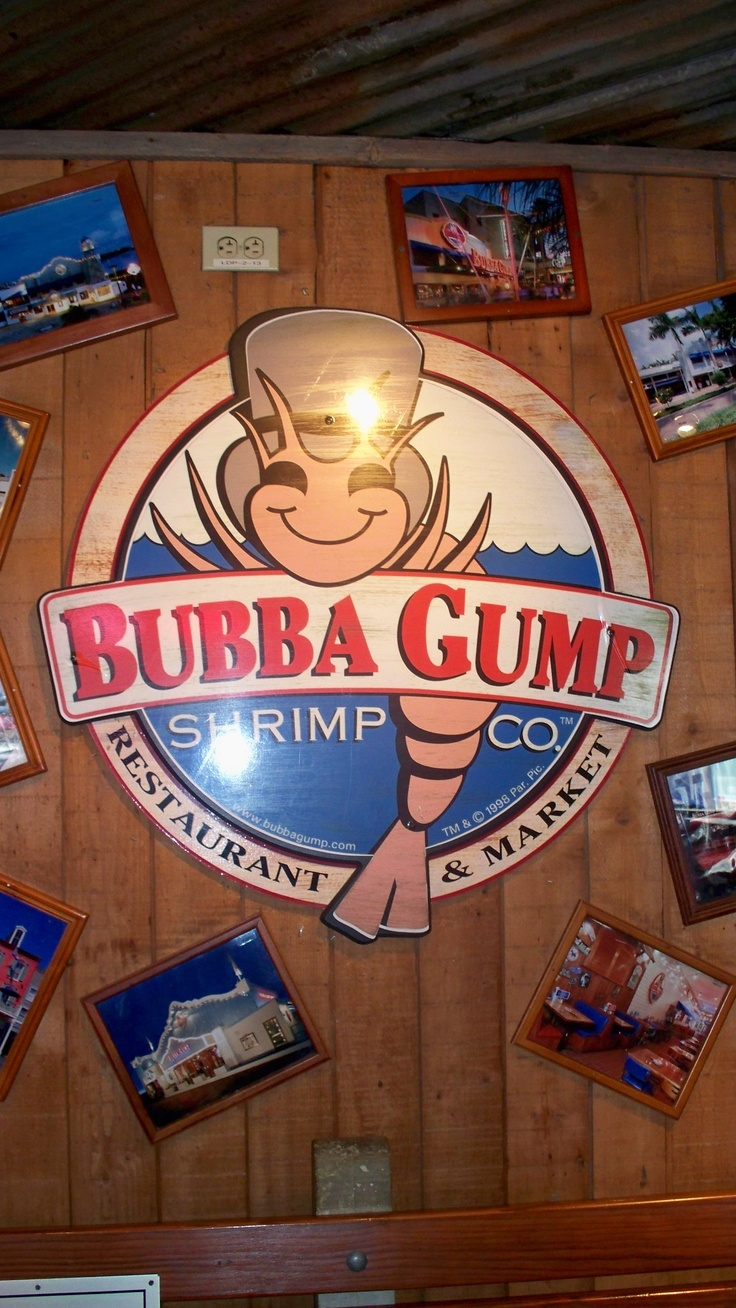 Coupons for bubba gumps restaurant