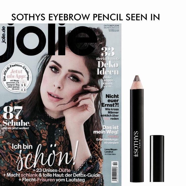 Definierte Augenbrauen sind ein Megatrend. Das Magazin JOLIE klärt in der Oktober Ausgabe die wichtige Frage nach dem richtigen Brow-Tool und SOTHYS ist mit dem neuen Augenbrauenverstärker mit dabei.  #BeautyAndStyleHamburg #Klosterstern #040 #Hamburg #Beauty #BeautyBlog #BeautyBlogger #Blog #InstaBeauty #BeautyProduct #Sothys #SothysSkinCare #eyebrows #eyebrowpencil #eyebrowpowder #eyebrowdesigner #Jolie #JolieMagazine #Magazine #Press