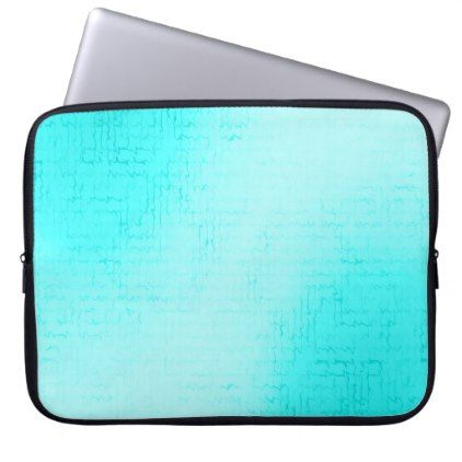 Cascade (Skye) Neoprene Laptop Sleeve - cyo diy customize unique design gift idea perfect