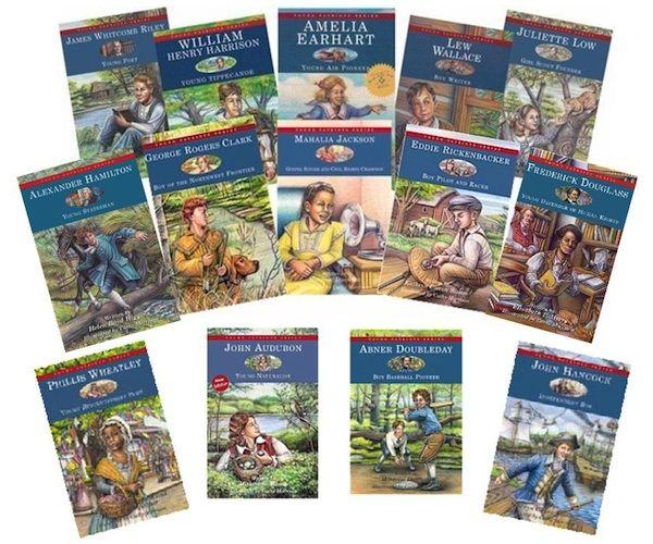 Children's Biographies-The Young Patriots Series of Children's Books: good links to resources and book study guides