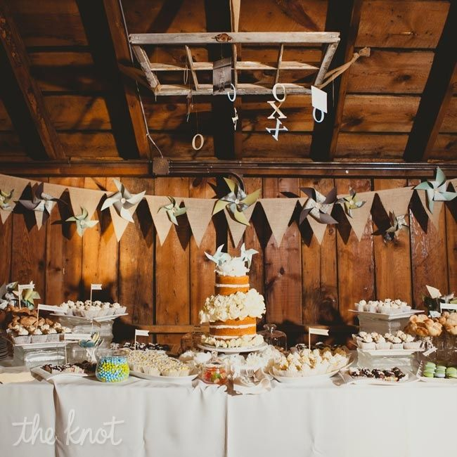 146 Best Reception Table Decoration Ideas Images On: 25+ Best Ideas About Rustic Wedding Desserts On Pinterest