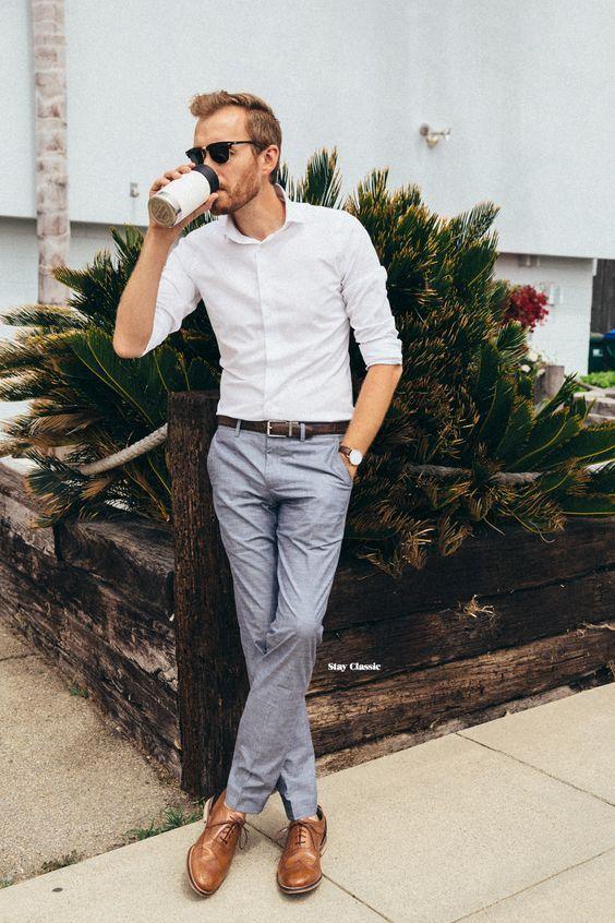 Roupa de Homem para Trabalhar. Macho Moda - Blog de Moda Masculina: Roupa de Homem para Trabalhar no Verão 2018, dicas para Inspirar! Moda para Homens, Como se vestir para Trabalhar Homem, Roupa de Escritório Masculina,