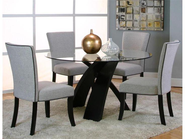 Sumner 5Piece Dining Set Adams Furniture Room Amusing Sets Columbus Ohio Design Inspiration