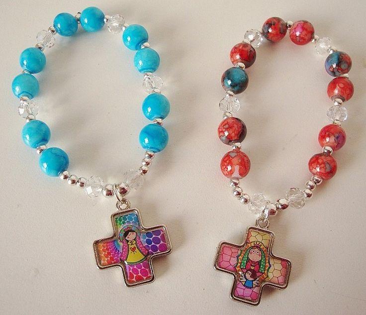 imagenes de souvenirs rosario para bautismo - Buscar con Google