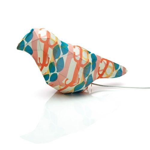 Mooi gevonden op fonQ.nl: vogel lamp van Alessi #light