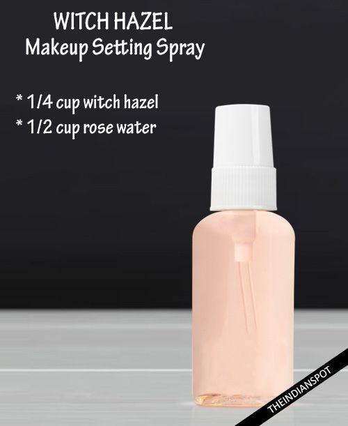 DIY 3 Natural Makeup setting Spray | THEINDIANSPOT