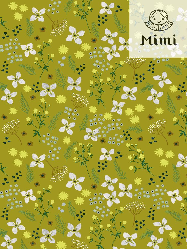 Floral pattern by Mimi paper