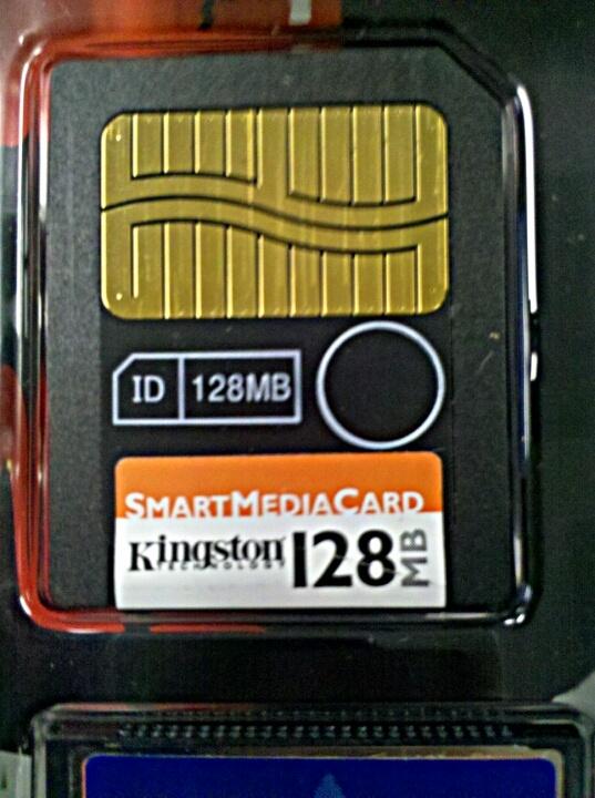 Kingston Technology 128 MB SmartMedia Card 3.3V
