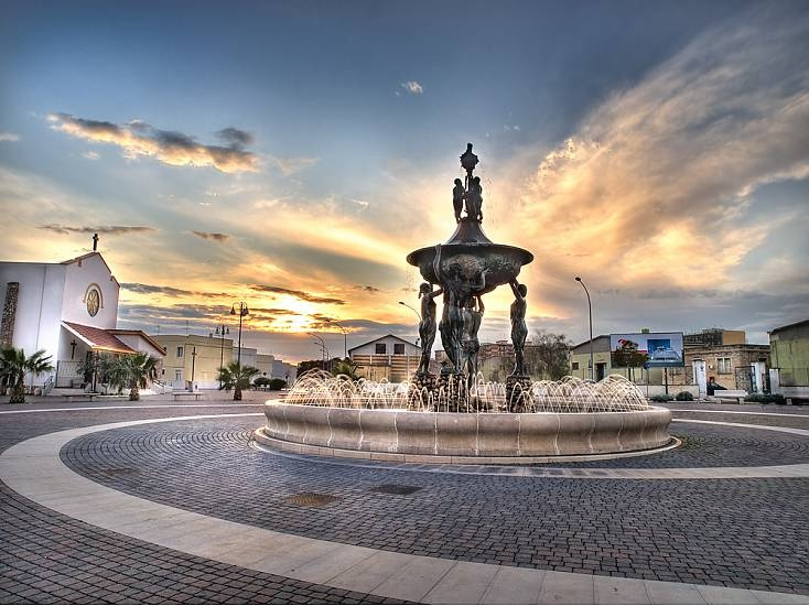 Manfredonia, Italy, Gargano, Foggia province, Open South Project