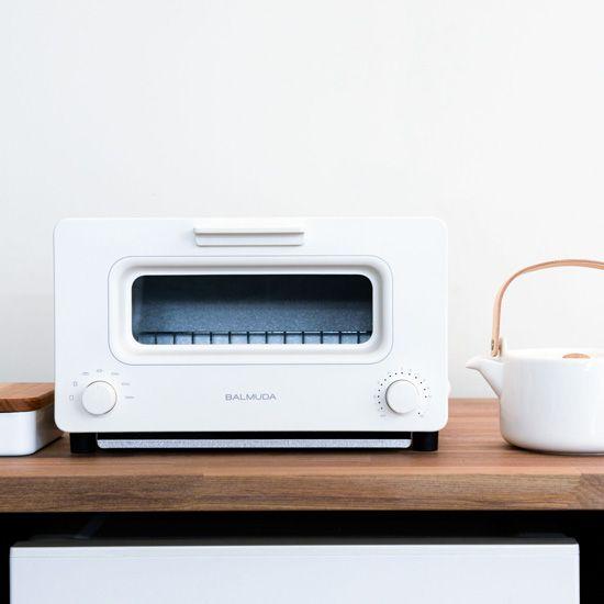 BALMUDA The Toaster/バルミューダ ザ・トースター(ホワイト) - 北欧、暮らしの道具店