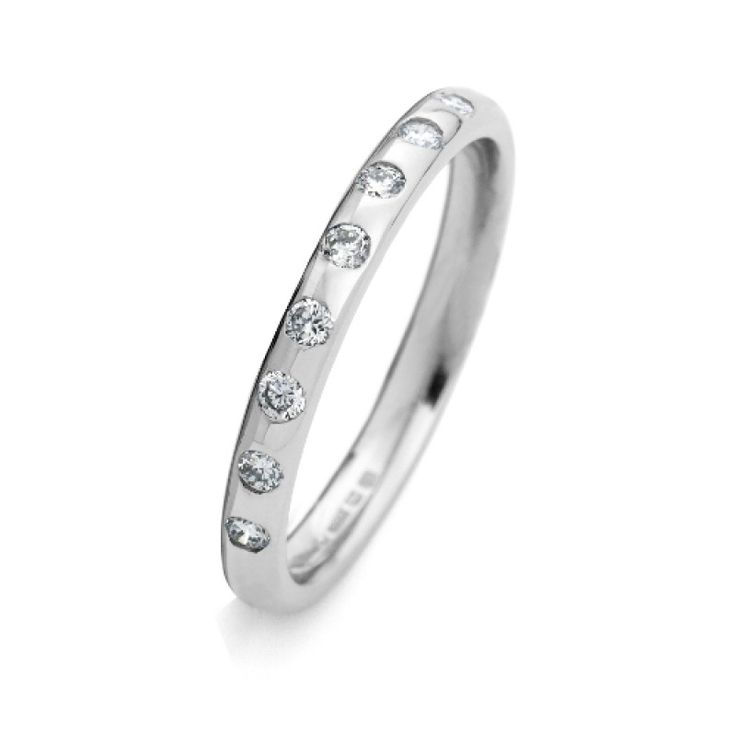 The Catherine Wedding Ring - CJ Collection #diamonds #diamond #jewellery #lovely #gift #catherinejones #cambridge #local #spiral The Catherine Ring #CJ collection #wedding #wedding band