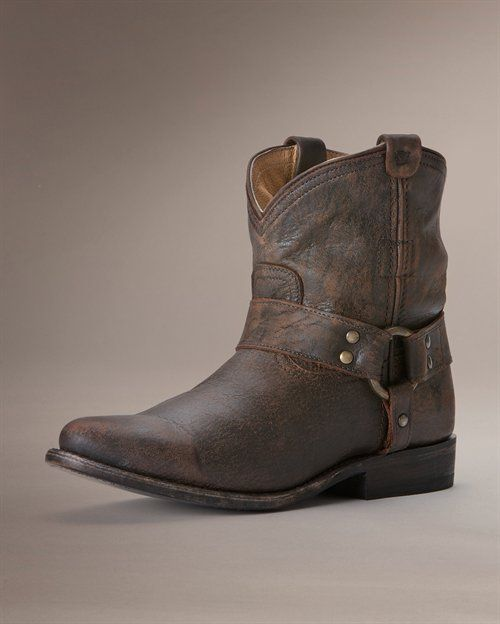 Wyatt Harness Short - View All Women's Boots - Western Boots, Riding Boots & More - The Frye Company FAVORITE!!!!!!!!!!!