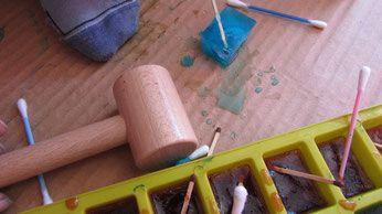 Kreatywnie z patyczkami higienicznymi - baw się, rozmawiaj i ucz!